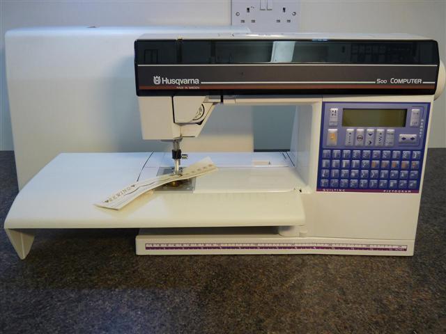 Husqvarna Viking 500 Quilting Sewing Machine New Amp Used
