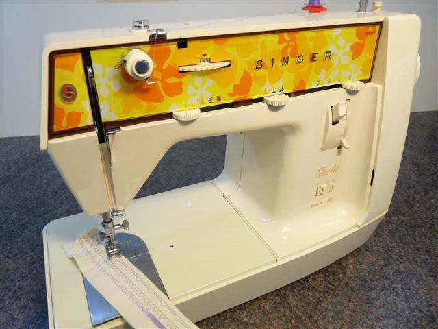 singer starlet 354 new used sewing machines from the. Black Bedroom Furniture Sets. Home Design Ideas