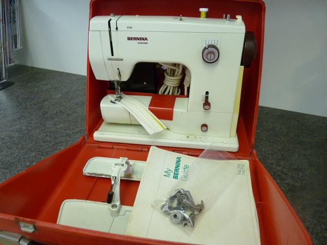 Bernina 40 New Used Sewing Machines From The Sewing Machine Box Classy Bernina 807 Sewing Machine